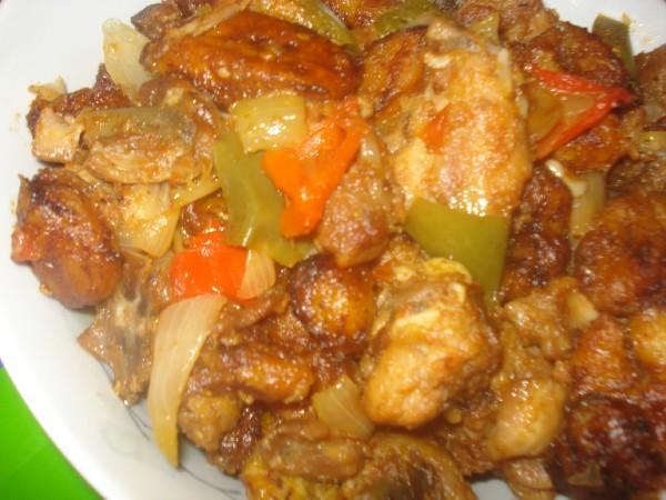 Le poulet dg gastronomans - Comment cuisiner les bananes plantain ...