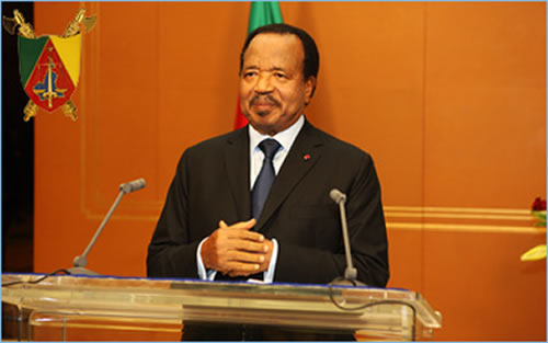 Paul Biya - 31/12/2012 Photo: © P.R.C.