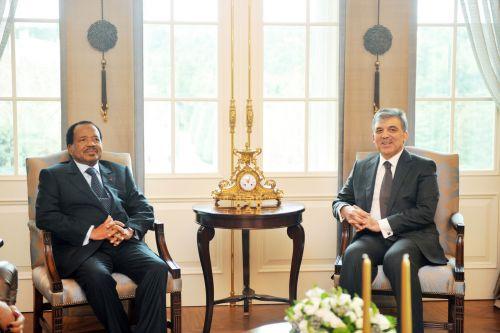 Paul Biya et Abdullah Gul en Turquie