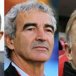 Antoine Kombouar, Raymond Domenech, Volker Finke