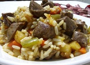 Riz Sautes Aux Legumes Avec Du Foie Actualite En Afrique Et Cameroun