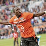 Vincent Aboubakar leads Lorient to 2-1 win