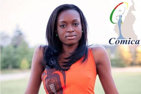 Larissa Ngangoum, Miss Cameroon 2014 Photo: © COMICA