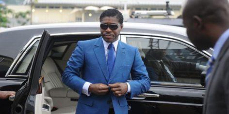 Teodorin Nguema Obiang, le fils du président de Guinée équatoriale, le 24 juin 2013