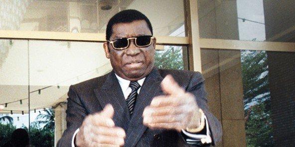 Étienne Eyadéma Gnassingbé, président du Togo de 1967 à 2005.