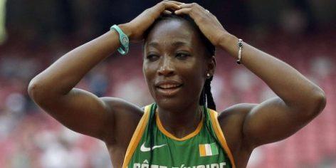 La sprinteuse ivoirienne Marie-Josée Ta Lou.