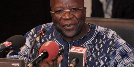 Simon Compaoré, le ministre burkinabè de la Sécurité intérieure.