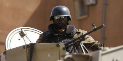 Un soldat burkinabè à Ouagadougou