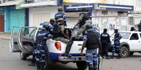 La police gabonaise procède à une arrestation à Libreville