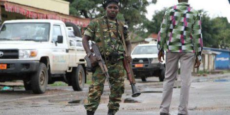 Un militaire burundais à Bujumbura