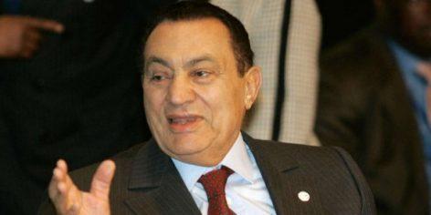 L'ancien président égyptien, Hosni Moubarak