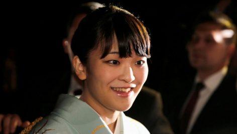 La princesse Mako, de la famille impériale du Japon.