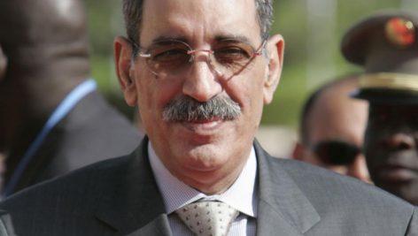 Ely Ould Mohamed Vall, ancien chef d'Etat mauritanien, ici en 2005 à Bamako.