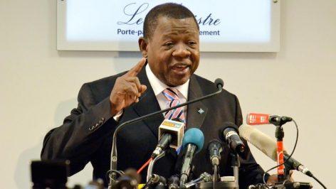 Lambert Mende, ministre de l'Information de République démocratique du Congo. © Reuters