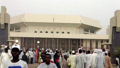 L'Assemblée nationale tchadienne à Ndjamena. © AFP / Issouf Sanogo