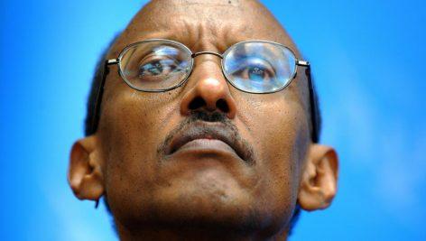 Paul Kagame, président du Rwanda, lors d'une conférence de presse en novembre 2008 à Genève. (Photo d'illustration) © AFP PHOTO / FABRICE COFFRINI