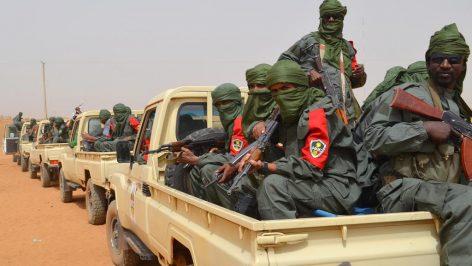 Patrouille militaire mixte de soldats de l'armée malienne et d'ex-combattants des groupes armés, Gao le 23 février 2017. (Photo d'illustration) © AFP