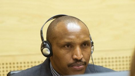 Bosco Ntaganda, à La Haye (archive). © REUTERS/Toussaint Kluiters/United Photos/Pool