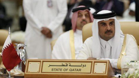 L'émir du Qatar, Tamim Ben Hamad al-Thani. © Reuters