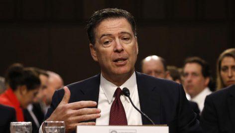 L'ancien directeur du FBI James Comey a témoigné ce jeudi 8 juin face à la commission de renseignement du Sénat.