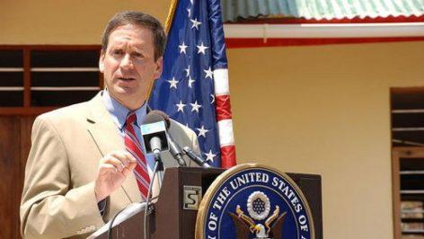 Mark Green est le candidat de la Maison Blanche pour prendre la tête de l'USAid, agence américaine d'aide et de coopération. Compte twitter de Mark Green