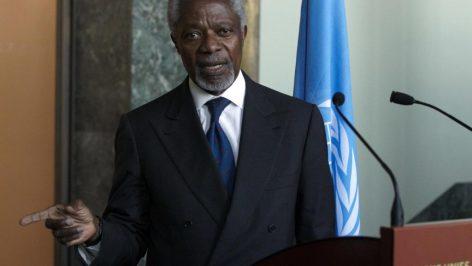 Koffi Annan, en mars 2012. © REUTERS/Denis Balibouse
