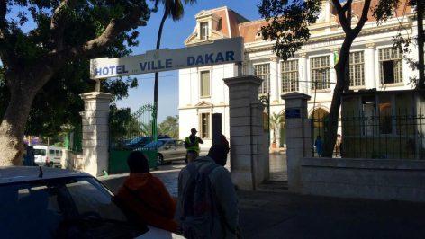 Mairie de Dakar, Sénégal. © RFI/Paulina Zidi
