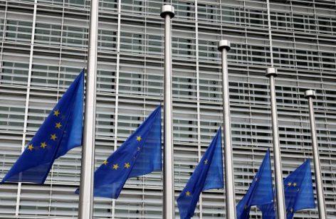 A Bruxelles, les drapeaux sont en berne afin d'honorer les victimes des attaques de Barcelone et Cambrils.