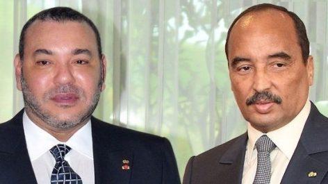 Mohamed Ould Abdelaziz et Mohammed VI