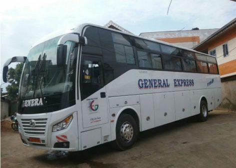 Un bus de Général Express