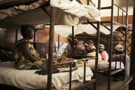 Prison pour femmes de Bimbo, à Bangui