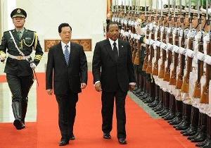 Paul Biya en Chine